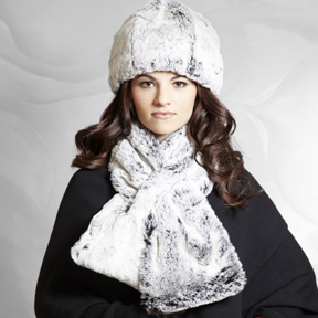 Short Scarf - Snowball