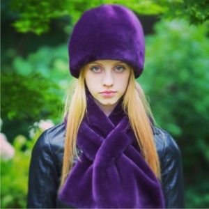 plum cloche and ptscarf